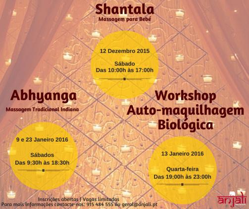 Flyer facebook Anjali formações dezembro e janeiro